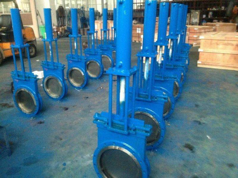 Many typical features of knife gate valve