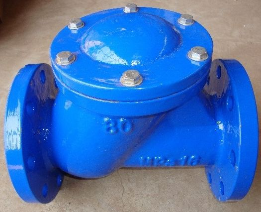 Check the following points during the installation of the check valve
